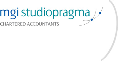 Studio Pragma _ Mgi Studio Pragma Chartered accountants _ Logo baffo
